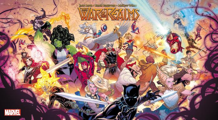 war of the realms marvel fumetti