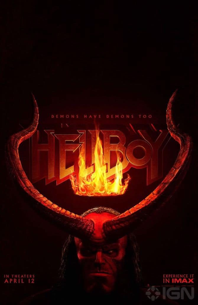 nuovo poster hellboy film 2019