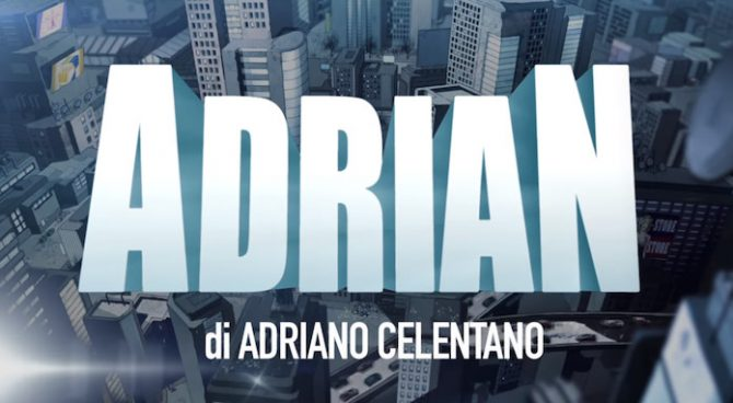 serie adrian celentano canale 5