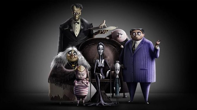 addams family film animati 2019