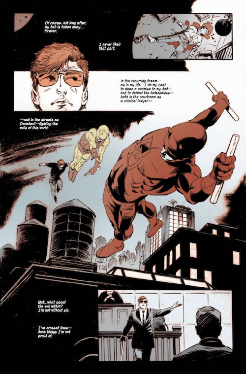 daredevil notti oscure lee weeks fumetto marvel