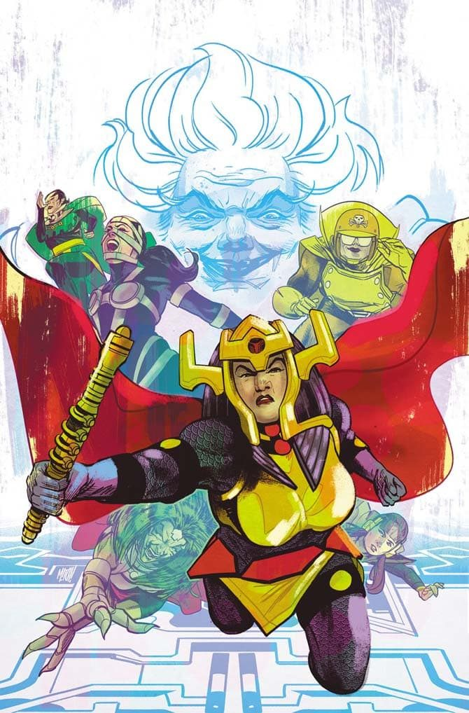 female furies comics fumetti usa 2019