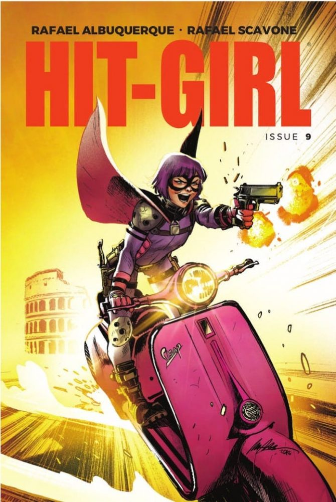 hit-girl roma fumetto mark millar