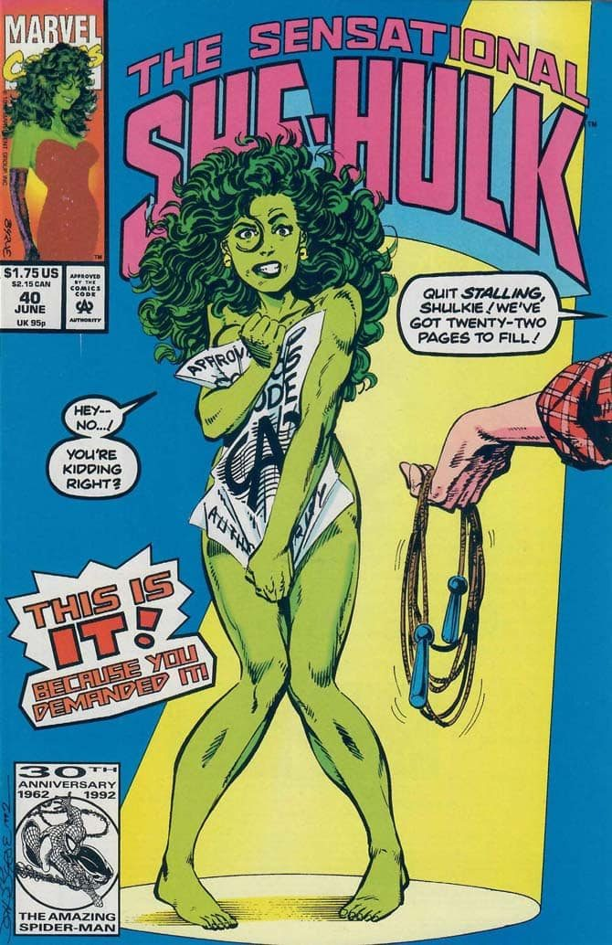 she hulk john byrne fumetto marvel