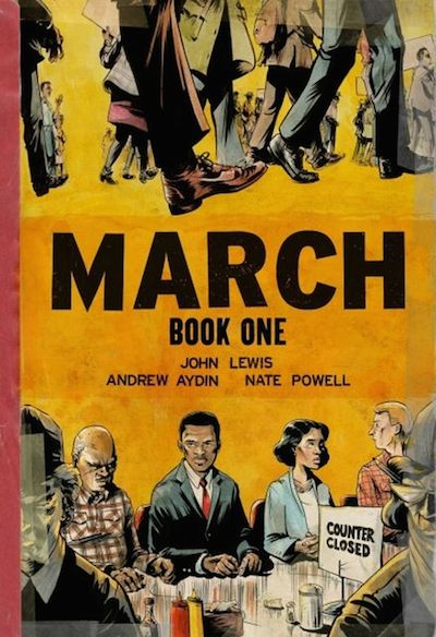 march graphic novel scuole