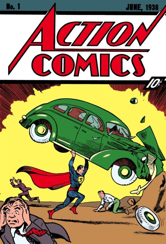 fumetto superman record Action Comics 1
