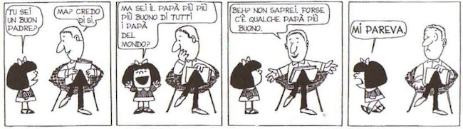 mafalda prima striscia