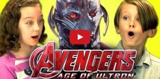 kids react avengers