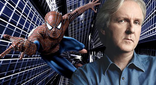 spider-man james cameron film supereroi mai realizzati