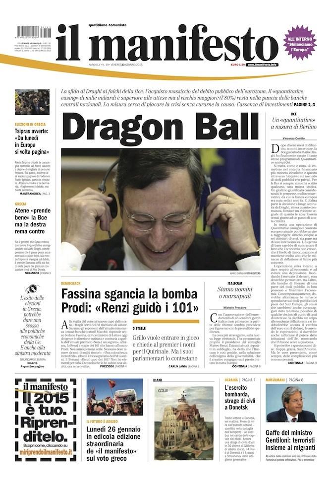 mario draghi dragon ball manifesto