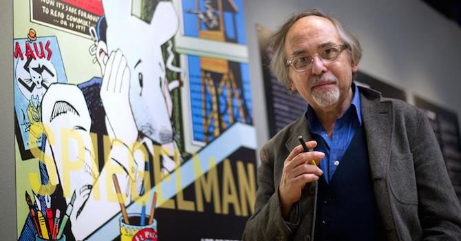 art spiegelman marvel donald trump