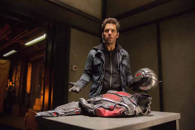 Scott Lang (Paul Rudd) ant-man film