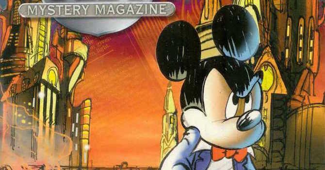 mickey mouse mystery magazine panini