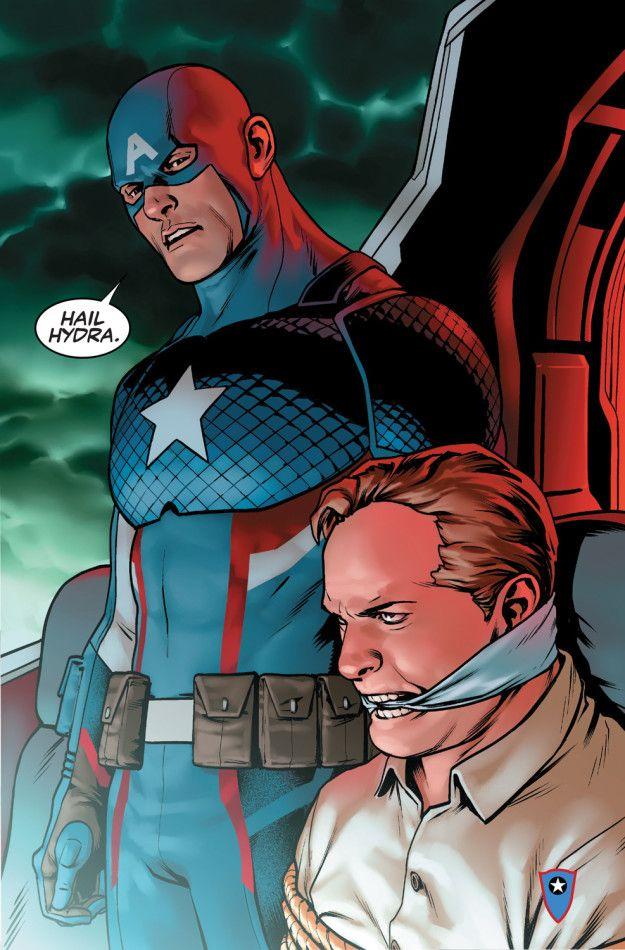 capitan america hydra avengers endgame fumetti