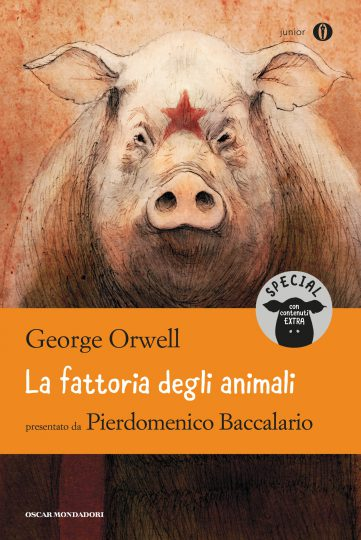 Gipi classici letteratura fattoria animali orwell mondadori