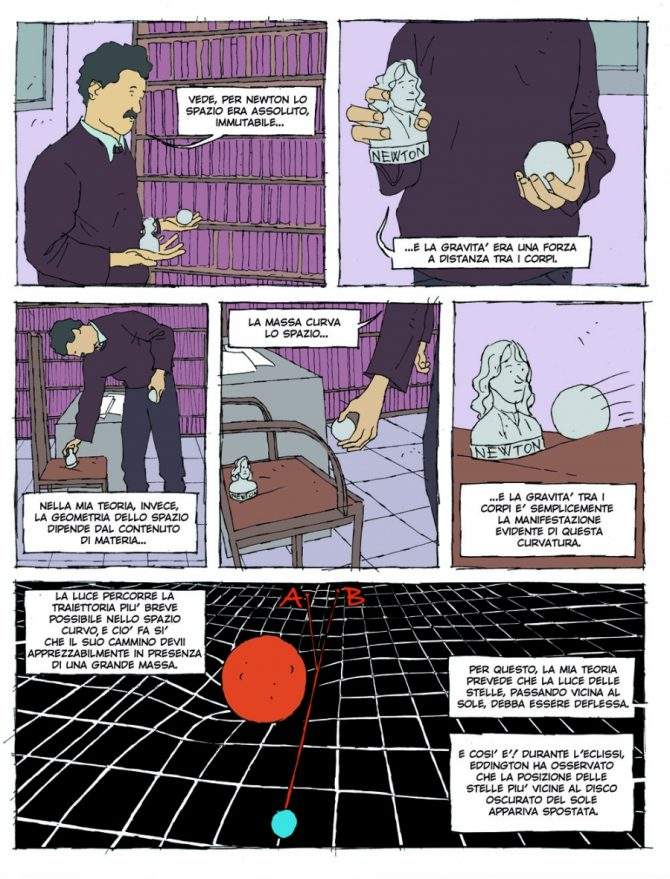 big bang fumetti