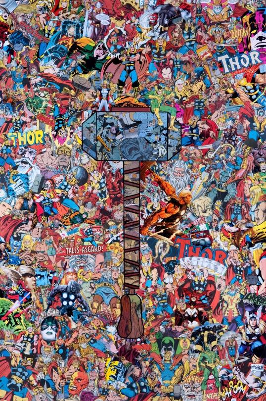 mr garcin collage fumetti