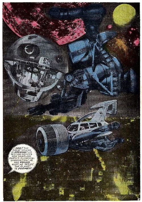 collage jack kirby