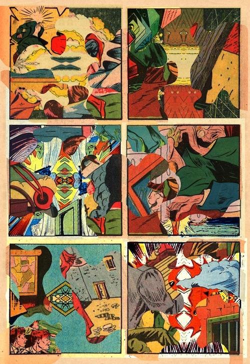 Samplerman comics