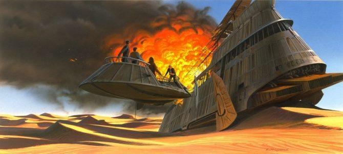 Star Wars Ralph Angus McQuarrie