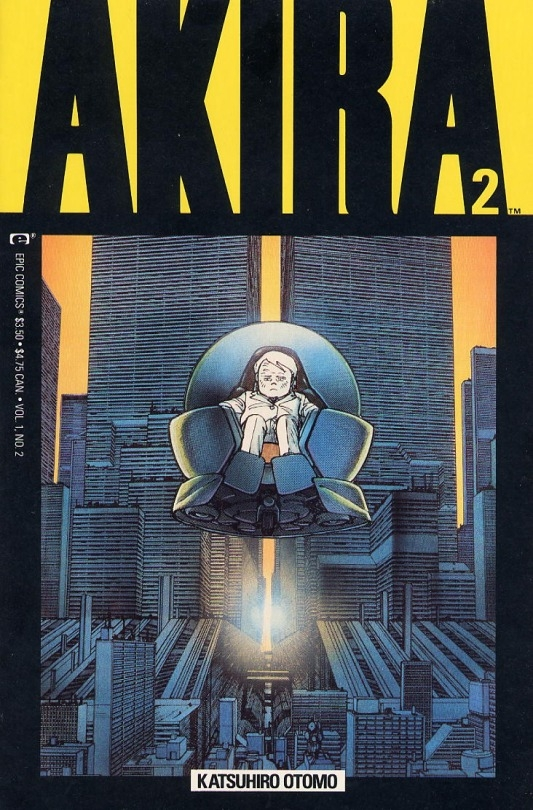 akira copertine epic comics