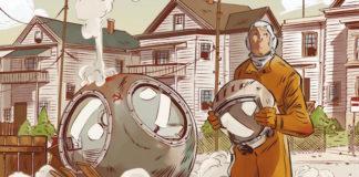 toni bruno da quassù la terra è bellissima fumetto graphic novel bao