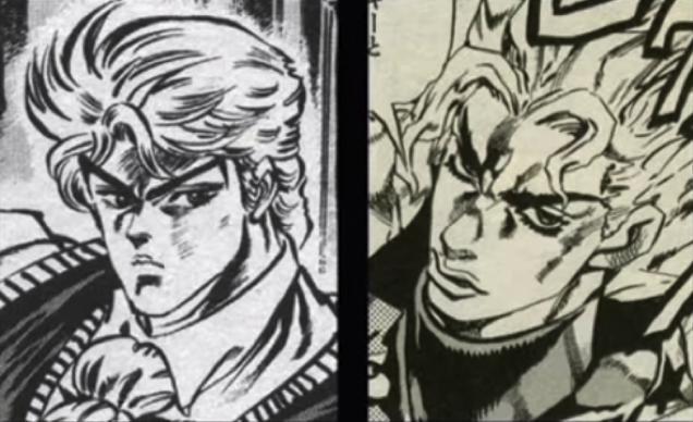 personaggi manga jojo