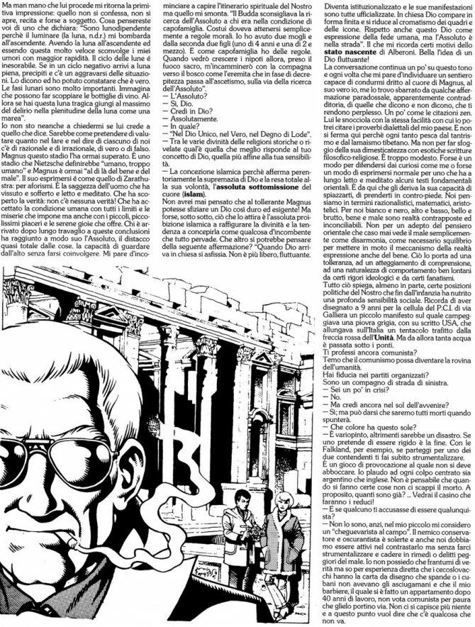 magnus intervista orient express