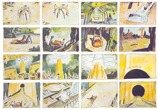 dune moebius storyboard