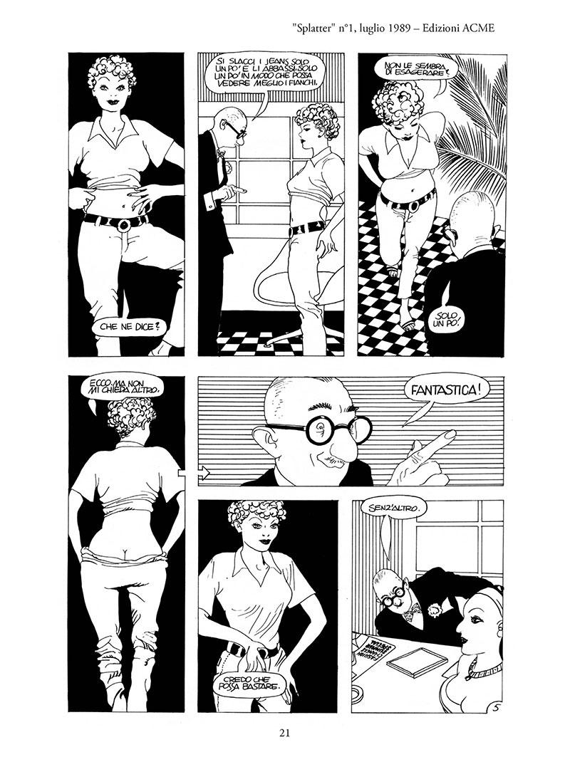 splatter fumetti