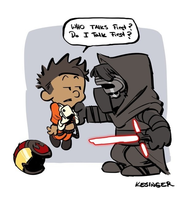 Star Wars Calvin & Hobbes