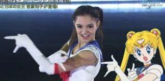 Evgenia Medvedeva pattinatrice sailor moon