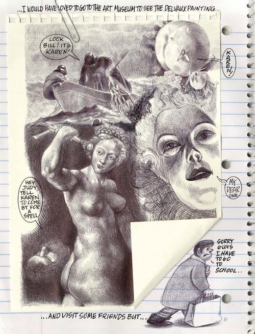My Favorite Thing is Monsters Emil Ferris Fantagraphics colleen doran