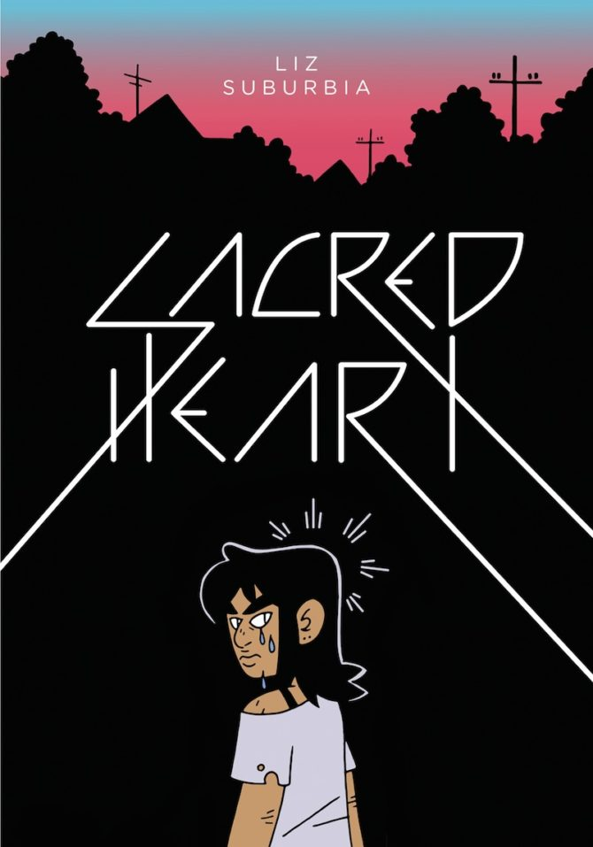 claudia petrazzi fumetti sacred heart liza suburbia