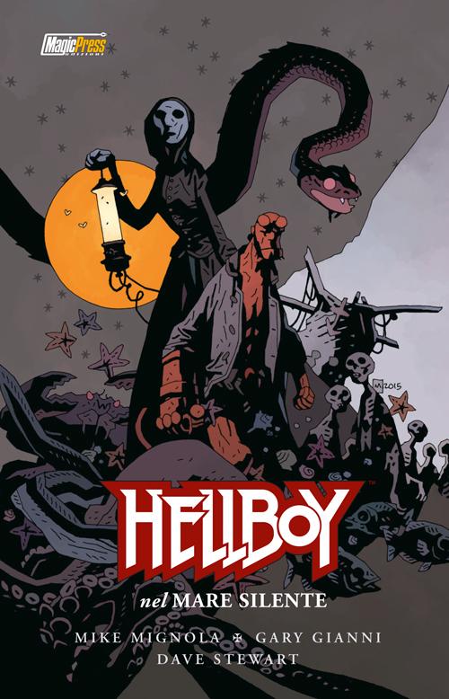mike mignola Hellboy Mare silente magic press