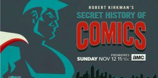 teaser robert kirkman secret history comics