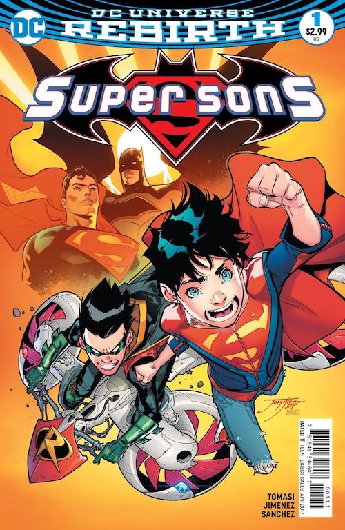 Super Sons Rebirth dc comics
