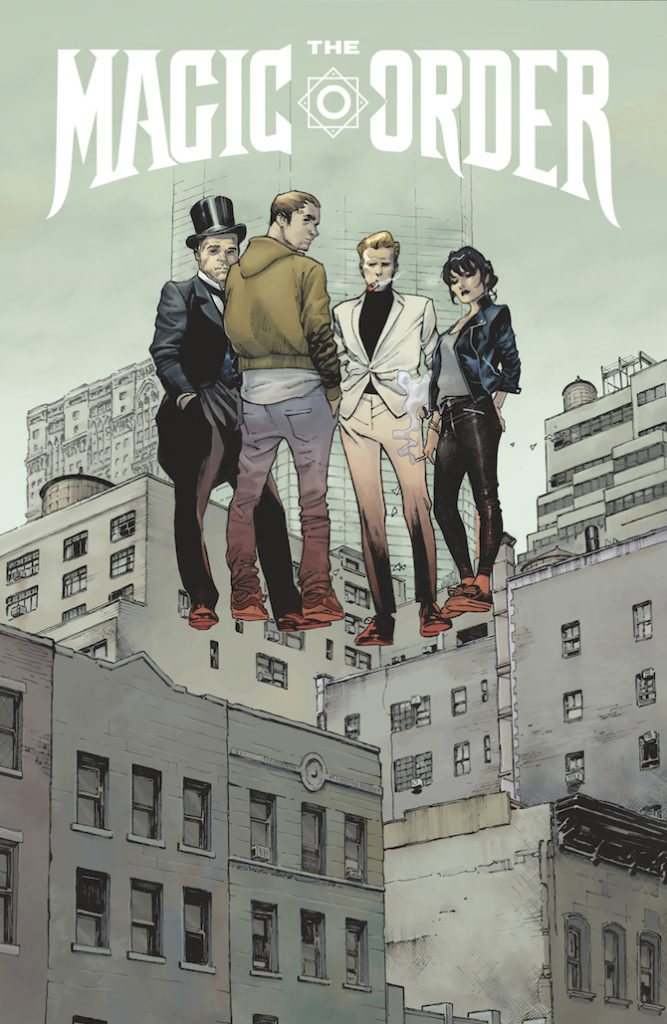 magic order fumetto netflix millar