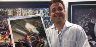 alex ross tavole originali lucca comics 2017