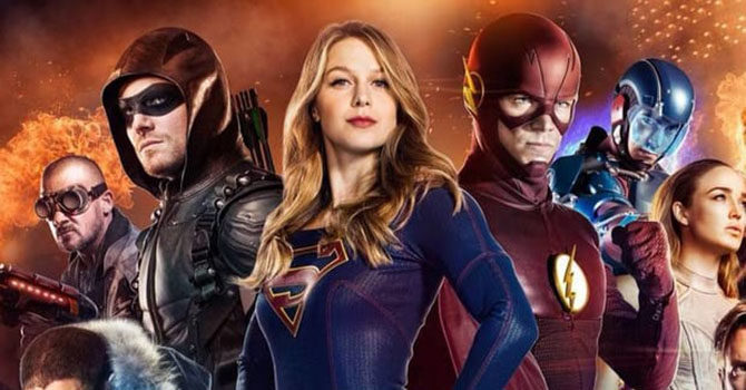 arrowverse ordine