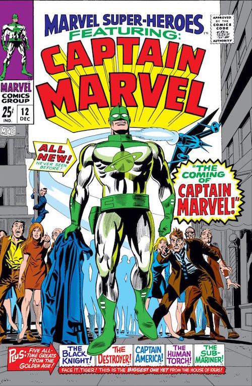 captain marvel fumetti marvel stan lee