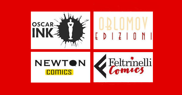 case editrici di fumetti