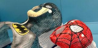 maschere supereroi cancro