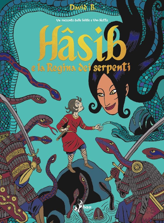 HASIB david b bao fumetto