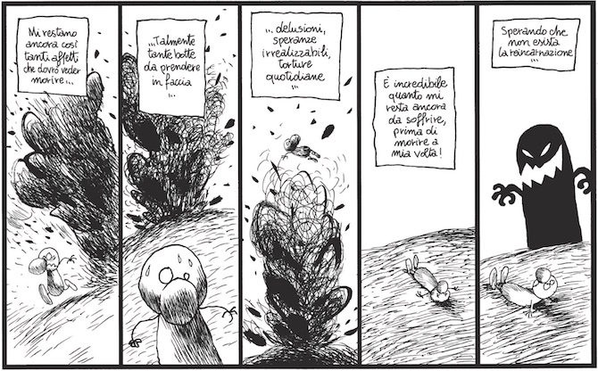 faremo senza larcenet coconino graphic novel fumetto