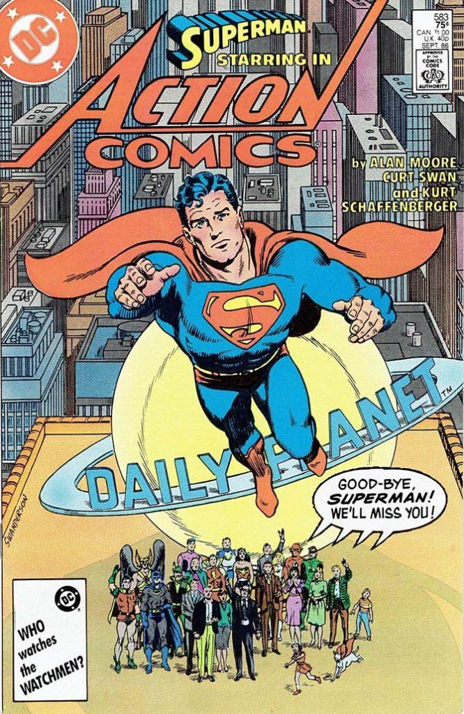 superman alan moore migliori fumetti dc comics