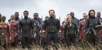 personaggi avengers infinity war film marvel