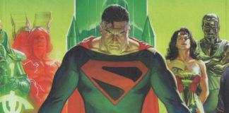 kingdom come fumetti dipinti supereroi