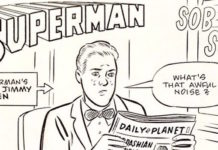 daniel clowes superman fumetto
