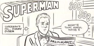 daniel clowes superman fumetto